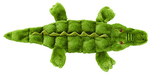 Ethical Pets Skinneeez Tons of Squeakers Alligator Dog Toy, 21-Inch