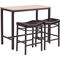 Linon Home Betty 3 Piece Pub Table Set
