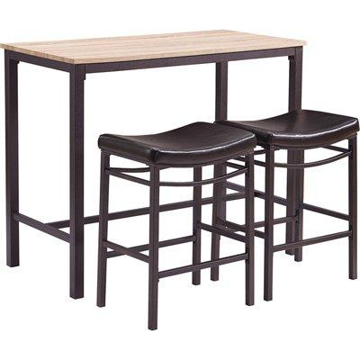 Linon Home Betty 3 Piece Pub Table Set - Linon Tavern Set