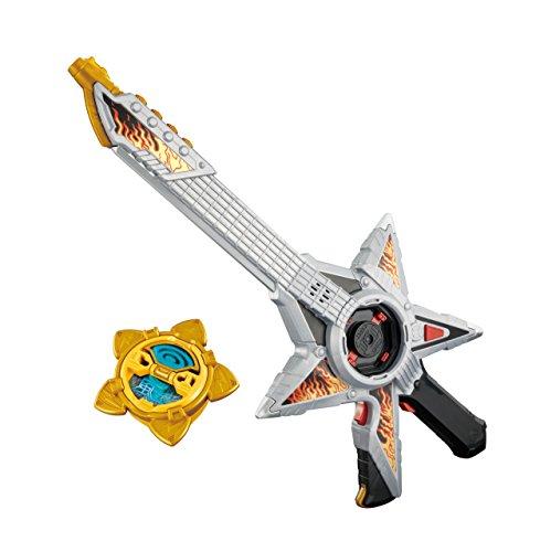 Bandai Shuriken Sentai Ninninger Guitar Ningeki Star Sword Gun