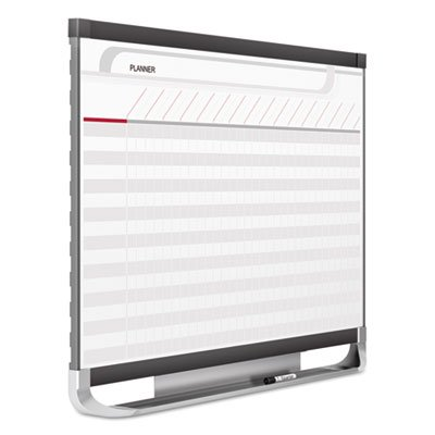 Prestige 2 Connects Total Erase Project Planning Board, 36 x 24, Graphite Frame, Sold as 1 Each
