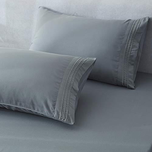 Shilucheng King Size Microfiber Bed Sheet Set
