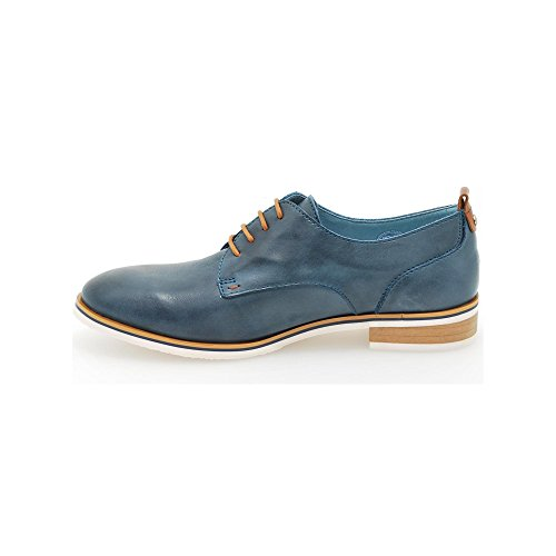 Royal v16 Lace W5g Pikolinos Blue up Women's Oxford dqaAnA