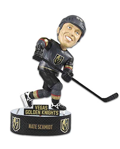 Forever Collectibles Nate Schmidt Las Vegas Golden Knights Baller Special Edition Bobblehead NHL