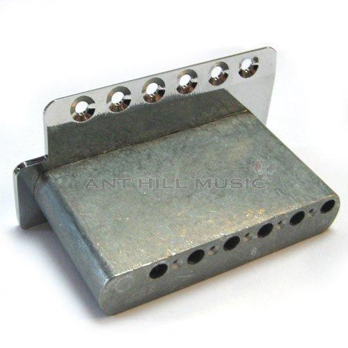 Genuine Mexican Fender Bridge Plate and Block 2 1/16''