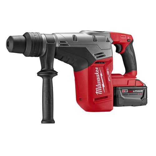 Milwaukee Tool 2717-22HD Rotary Cordless SDS Max Hammer Drill Kit 1-9/16 Inch 18.75 Inch M18TM FuelTM SDS Max by Milwaukee (Image #2)