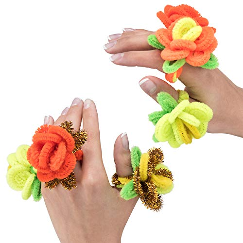 Pipe Cleaners Bulk 12 Inch Chenille Stem Set of 300 Fuzzy Bendable Wire Stems 20 Vibrant Colors for Arts and Crafts Create Shapes Objects Projects Smooth Ends Pipes for Kids Classroom Crafts