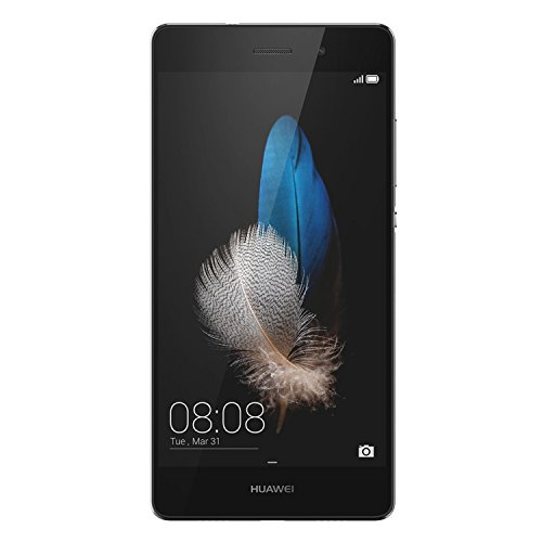 HUAWEI P8 Lite ALE-L23 16GB Unlocked GSM 4G LTE Octa-Core Phone w/ 13MP Camera - Black (Camera Phone 13mp Huawei)