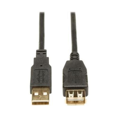 Tripp Lite U024-016 16-ft. USB 2.0 Gold Extension Cable (USB A M/F) - NEW - Retail - U024-016
