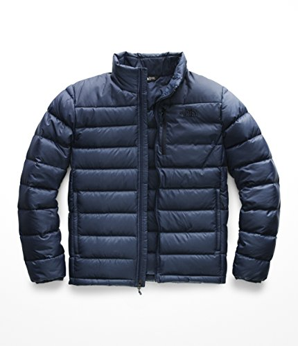 Mens North Face Denali Jacket - The North Face Men's Aconcagua Jacket - Shady Blue - XL