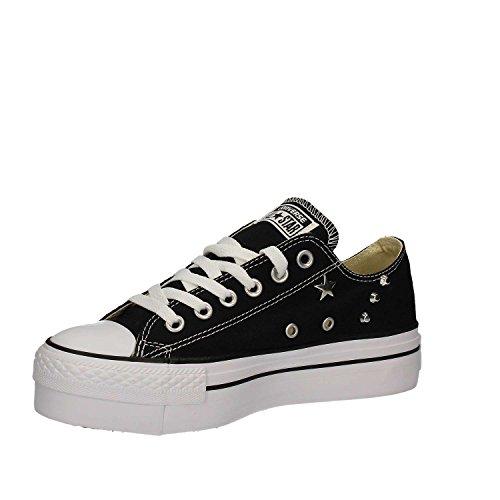 CONVERSE LIMITED ED DAMEN ALL STAR PLATTFORM STUDEN SCHWARZ SNEAKERS