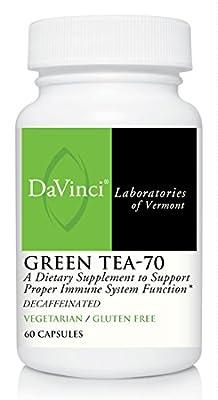 DaVinci Labs Green Tea-70, 60 capsules