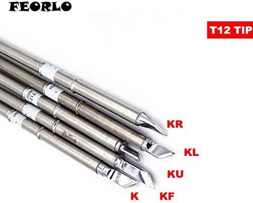 T12-KL Replace Soldering Solder Iron Tip For Hakko Shape-KL PCB Repair Product