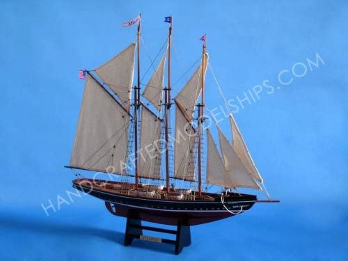 Handcrafted Model Ships Atlantic Limited Yacht