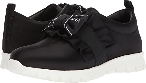 Dolce & Gabbana Kids Girl's Bow Sneaker (Little Kid/Big Kid) Black 1 36 M EU by Dolce & Gabbana