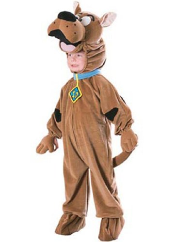 Deluxe Scoobydoo Kids Costumes (Child Deluxe Scooby-doo™ Costume - Small)
