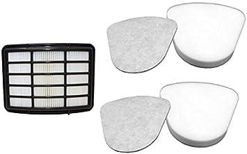 2 Pack XFF350 Foam and Felt Filter Kit for Shark NV360 XHF350 HEPA Filter