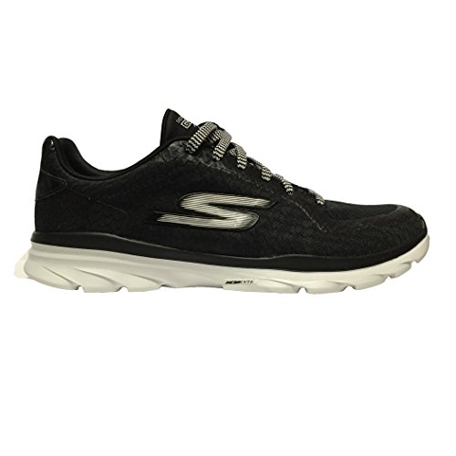 Skechers Performance Women's Go Fit 3 Walking Shoe,Black/White,7.5 M US