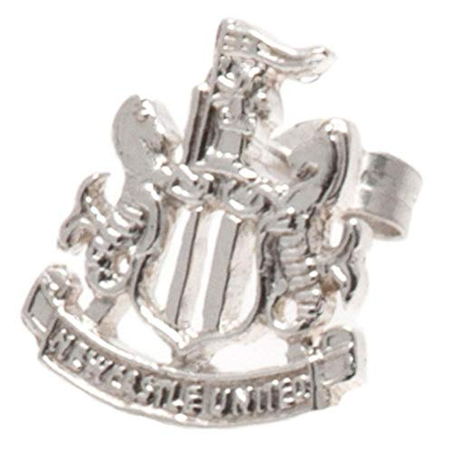 Newcastle Utd Football Club Sterling Silver Stud Earring Official ()