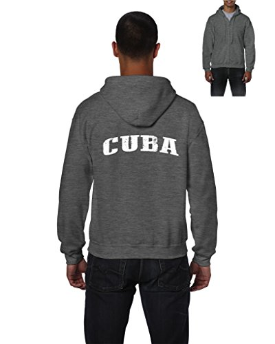 Cuba Hoodie Travelers Gift Ideas Places To Travel In Havana Cuban Novelty Gifts Mens Hoodies Zip Up Sweater