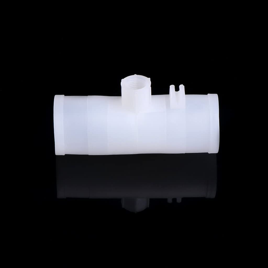 YoungerY 6 Poultry Water Drinking Tube Plastic Automatically Drinker Chicken Bird Feeder