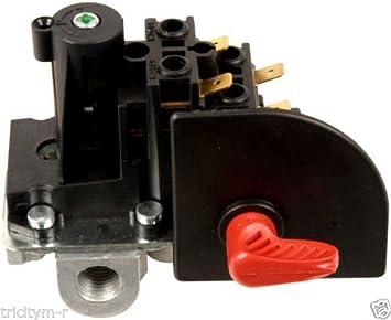 cw211000av Compresor De Aire Interruptor De Presión 100/125PSI Campbell Hausfeld/Husky - -P # ewt43 65234r3fa729218: Amazon.es: Jardín