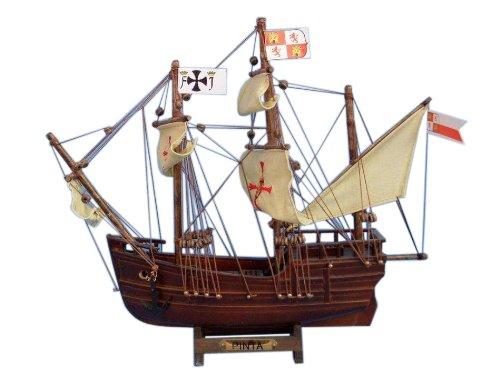 """Hampton Nautical  Pinta Tall Ship, 12"""" from Hampton Nautical"""