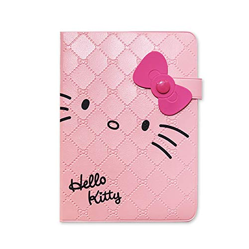 Sanrio Hello Kitty Sweet Kitty Face Cut Diary Scheduler Planner with Ribbon (Pink)