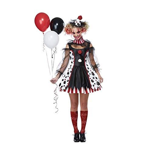 Twisted She Clown Adult Womens Costume California