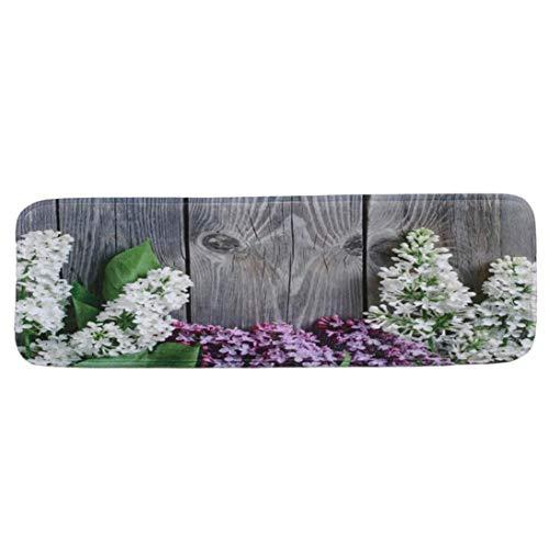 Lywey 5PCS Halloween StepBasic Non-Slip Coral Fleece Resistant Carpet Stair Mat, Adds Cushion | 22cmx70cm ()