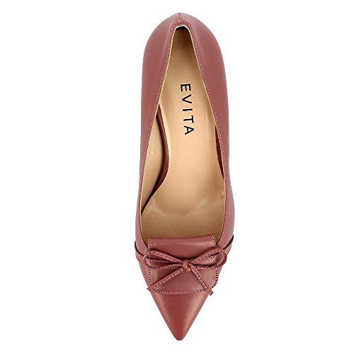 Evita Shoes Giulia - Zapatos de vestir de Otra Piel para mujer Rose