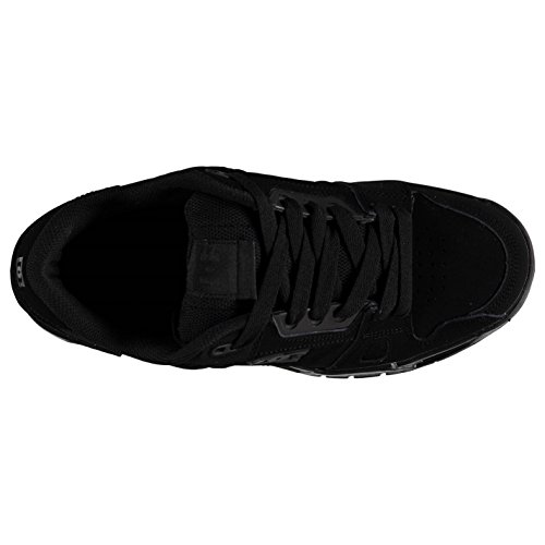 DC Stag Skate Chaussures Casual Formateurs Baskets Homme Noir
