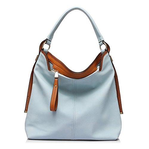 bandoulière à Hobos à à Bleu à Sacs Sac bandoulière Bag Messenger grande capacité 1 bandoulière Sac az8FTwTq