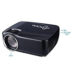 Guangxin Android Wifi Bluetooth Projector 1200 Lumens Support 1080p Portable Mini Lcd Projector Support Usb Av Hdmi Video Vga