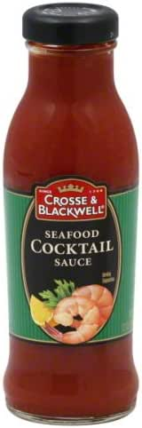 Crosse and Blackwell Seafood Cocktail Sauce, 12 Ounce - 6 per case.
