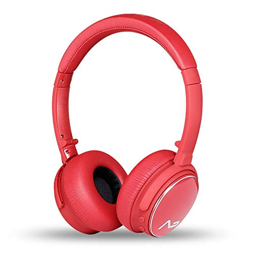 HB-69 Bluetooth Headphone Over Ear, Hi-Fi Stereo Wireless Headset Ergonomic Protein Earpads Noise Reduction Built in Deep Bass Foldable Telescopic Arms Wired Mode for Travel Work TV PC Mobile