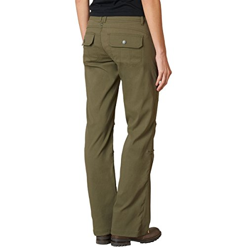 prAna Women's Short Inseam Halle Pant, 0, Cargo Green by prAna (Image #2)