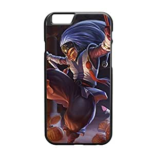 Shaco-008 League of Legends LoL case cover for Apple iPhone 6 - Plastic Black