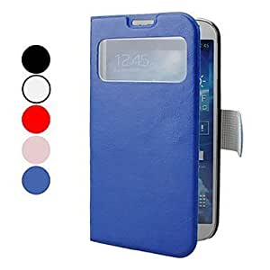 Viesrod Processing time 2 days-Solid Color PU Leather Case with Stand and Mirror Surface for Samsung Galaxy S4 I9500 (...