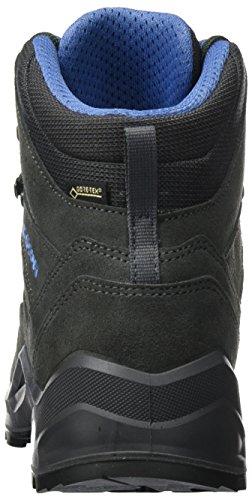 Lowa Sesto GTX Mid, Stivali da Escursionismo Uomo Grigio (Anthracite/Blue)