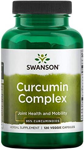 Swanson Curcumin Complex 350 mg 120 Veg Caps