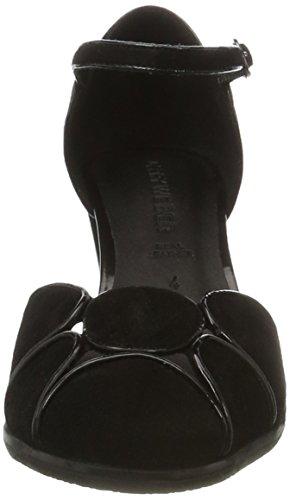 Gerry Weber Dames Villa 07 Schoenen Van Mary Jane Half-zwart (zwart)