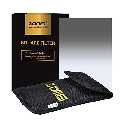 Zomei 6 in1 Square Z-PRO Series Filter Holder Support + Adapter Ring 86mm+Gradual grey ND4+Gradual RED+Gradual blue+Gradual Orange 145*100