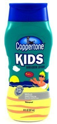Coppertone SPF#70+ Kids Broad Spectrum 8 oz. (Case of 6)