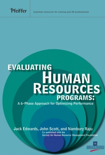 Evaluating Human Resources Programs: A 6-Phase Approach for Optimizing Performance
