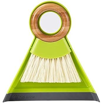 Full Circle Tiny Team Mini Brush & Dustpan Set, Green