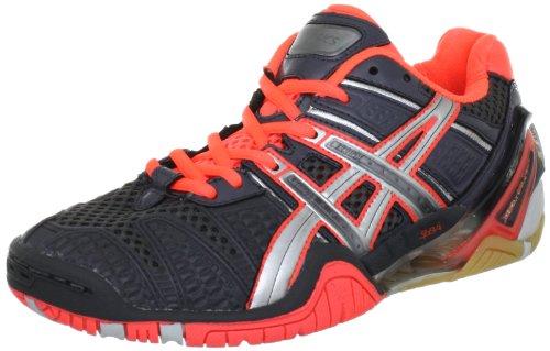 Asics Black Black Women's Blast Silver Handball Red 9093 Neon Schwarz 4 Shoes Gel rw6ar