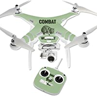 Skin For DJI Phantom 3 Standard – Combat Wombat | MightySkins Protective, Durable, and Unique Vinyl Decal wrap cover | Easy To Apply, Remove, and Change Styles | Made in the USA