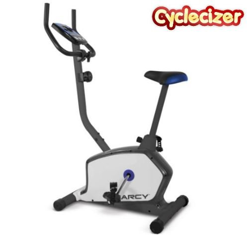 Exercise Bike For Seniors Upright Stationary Trainer Home Aerobic Pedal Exerciser by Cyclecizer