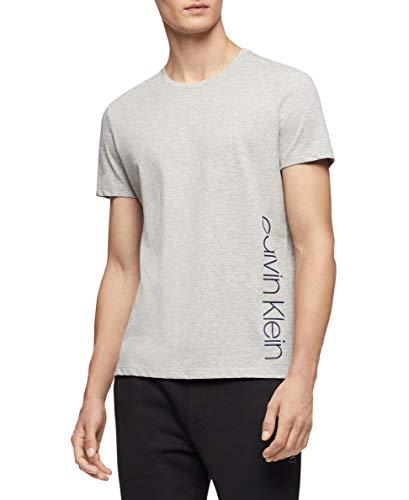Calvin Klein Men's Short Sleeve Crew Neck T-Shirt, History Heather Summer, 2X-Large from Calvin Klein